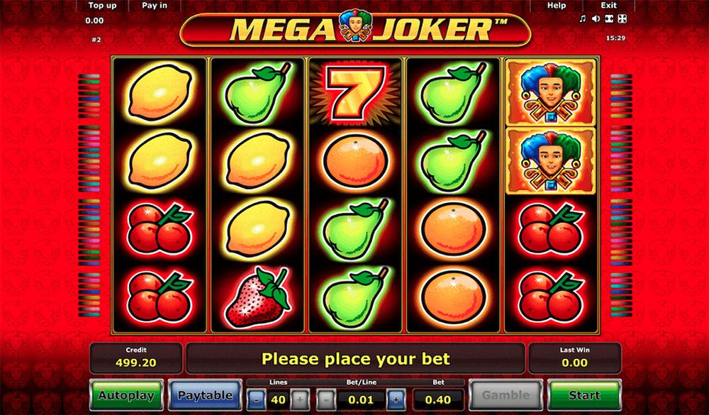 Mega Joker Online Slot Casino Game