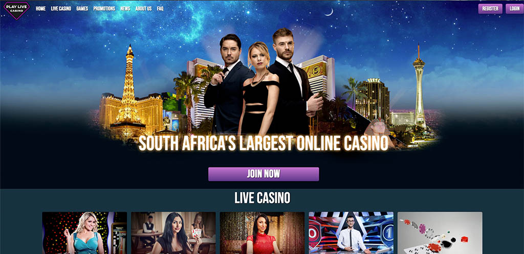 Play Live Casino Online South Africa