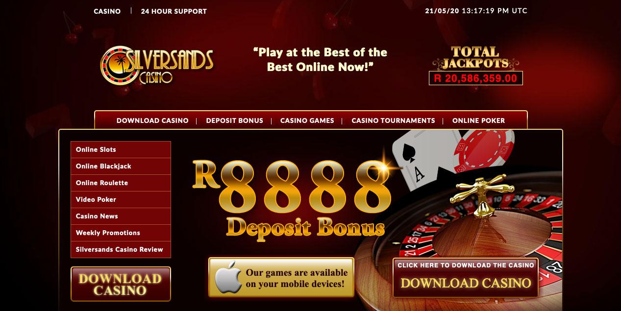 Silversands Casino Online South Africa