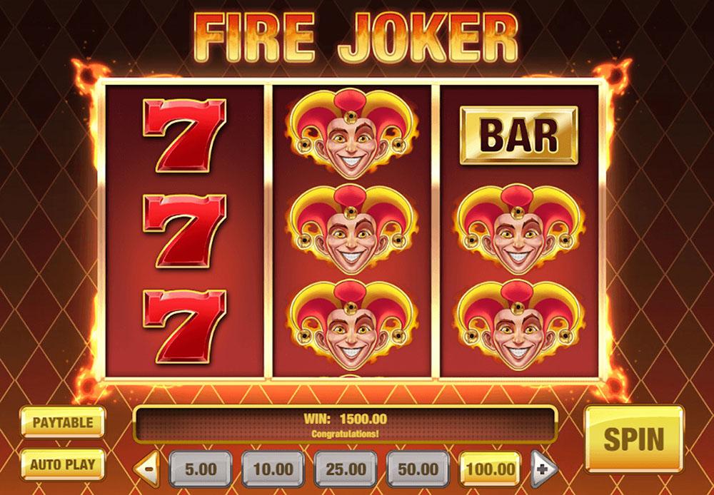 Fire Joker Online Slot Casino Game
