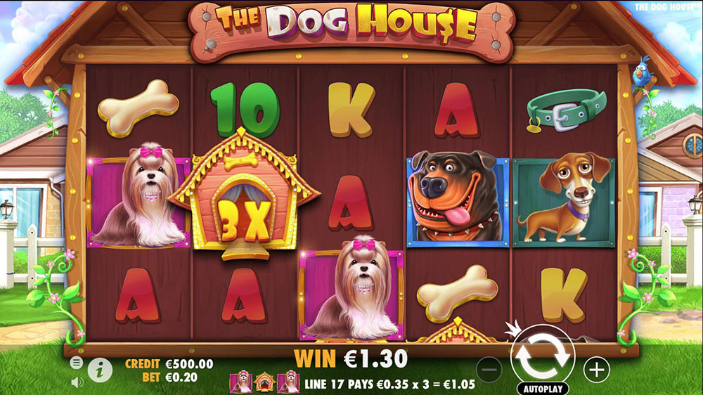 The Dog House Online Slot Casino Game