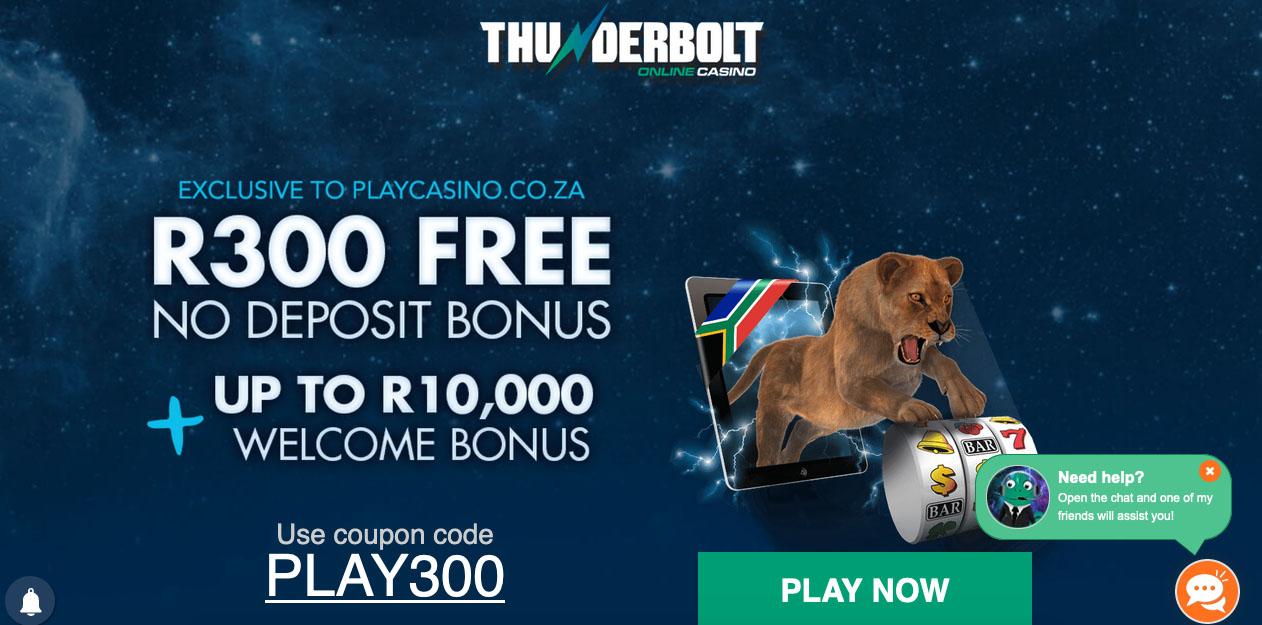 Thunderbolt Online Casino South Africa