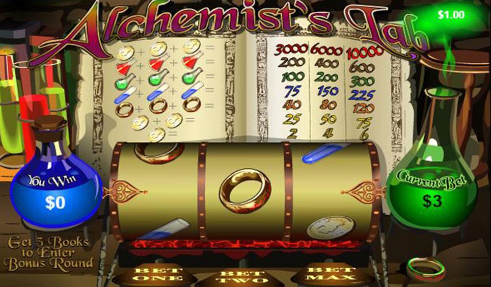 Alchemists Lab Online Slot Casino Game