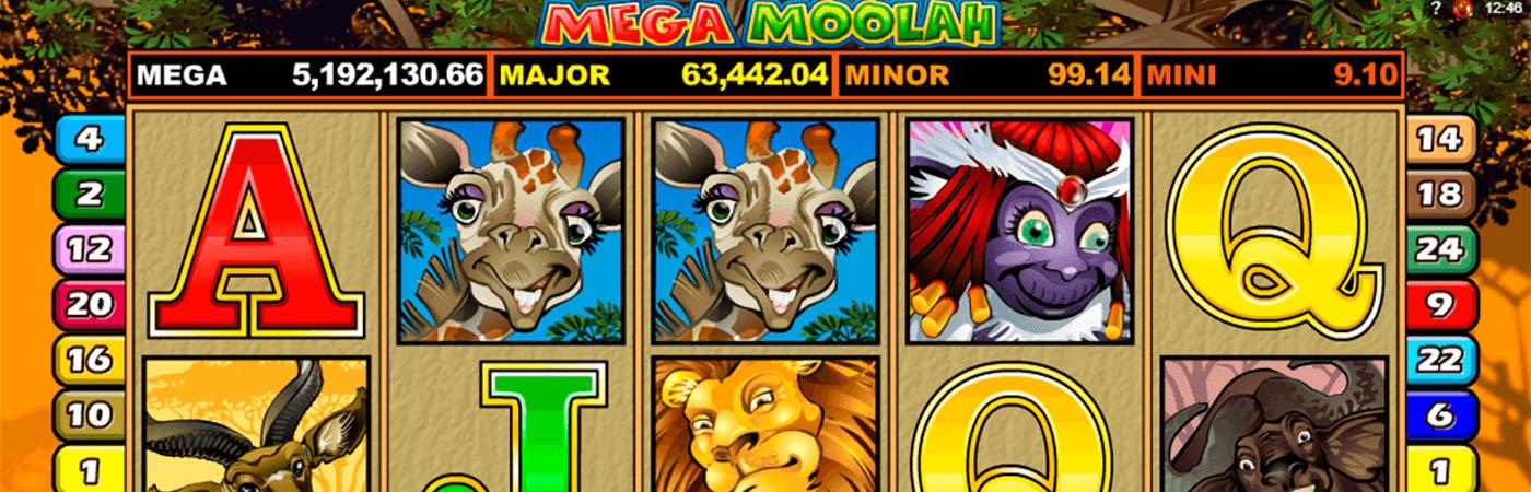 Mega Moolah Online Casino Slots